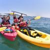 親子で水中世界を楽しむ